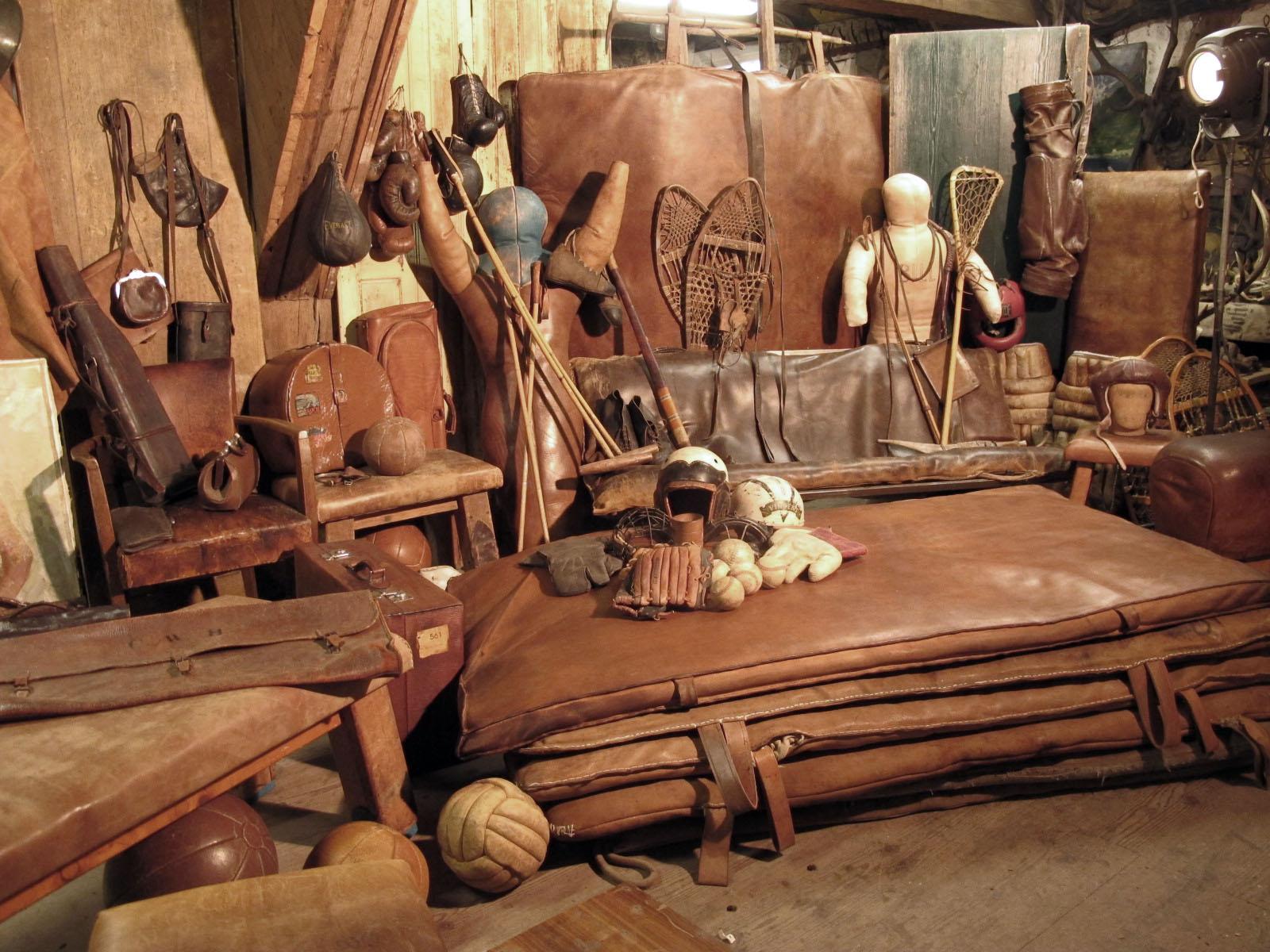 Ledermatten und anderes Leder